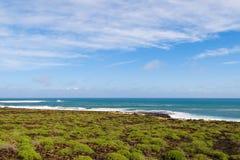 Coast of the island. Lanzarote, Canary isalnd Stock Photos