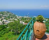 Coast of the island of Capri, Italy. Royalty Free Stock Photos