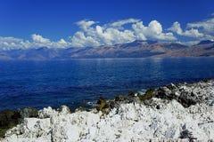 Coast of island of Corfu Stock Photography