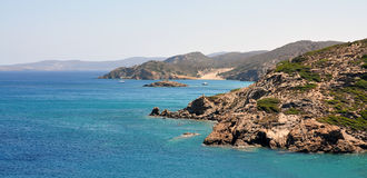 Coast of the island of Crete, Greece, Europe Royalty Free Stock Image