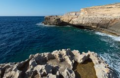Coast of the island of Gozo Malta Stock Photo