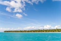 The coast of the island of Haiti. royalty free stock image
