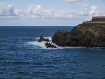 Coast. Island - stone coast - Tenerife - Canary Island Stock Photo