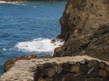 Coast. Island - stone coast - Tenerife - Canary Island Royalty Free Stock Photos