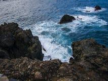 Coast. Island - stone coast - Tenerife - Canary Island Stock Images