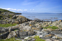 Coast of Isle of Gigha Stock Photo