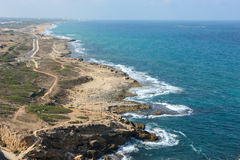 Coast of Israel. Royalty Free Stock Photography