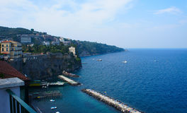 Coast of Italy Royalty Free Stock Photography