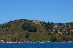 Coast of Ithaca. Coast of island Ithaca - Ionian island Stock Photography