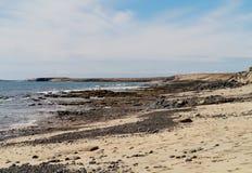 The coast of the Jandia peninsula on Fuerteventura Stock Photo