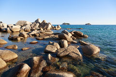 Coast of the Japan sea Stock Photography