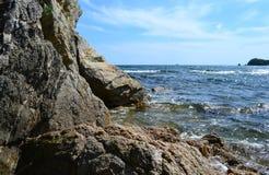 Coast of Japan sea. Stock Images