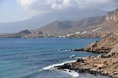 Coast of karpathos Stock Images