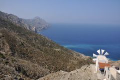 Coast of karpathos Stock Images
