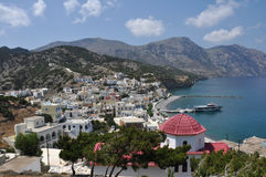 Coast of karpathos Royalty Free Stock Images