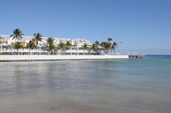 Coast in Key West, Florida Stock Photography