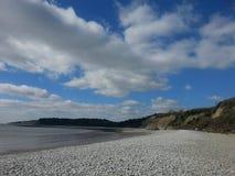 Coast. Knap beach Barry Wales Stock Image