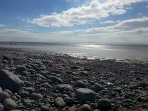 Coast. Knap beach Barry Wales Royalty Free Stock Images