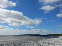 Coast. Knap beach Barry Wales Royalty Free Stock Photo