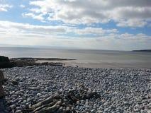 Coast. Knap beach Barry Wales Royalty Free Stock Image