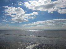 Coast. Knap beach Barry Wales Stock Images