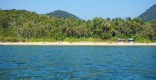 Coast of ko lanta Stock Images