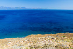 Coast in Kos, Greece. Royalty Free Stock Images