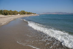 Coast of Kos island, Greece Royalty Free Stock Image