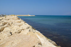 Coast of Kyrenia Royalty Free Stock Photos