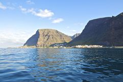 The coast of La Gomera Royalty Free Stock Images