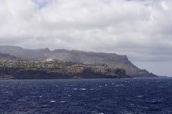 The coast of La Gomera island Royalty Free Stock Photos