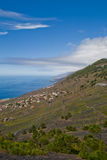 The coast of La Palma Royalty Free Stock Photo