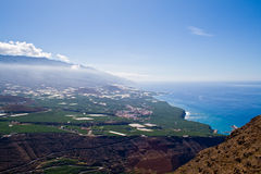 The coast of La Palma Stock Images