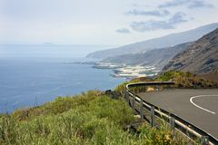 Coast of La Palma, Canary Islands Stock Photos