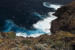 Coast of La Palma, Canary Islands Stock Photography