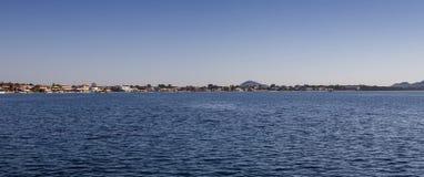Coast of Laganas on Zakynthos Island, Greece Stock Images