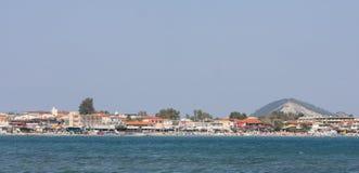 Coast of Laganast on Zakynthos island Stock Images
