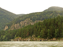 Coast of lake Baikal Stock Images