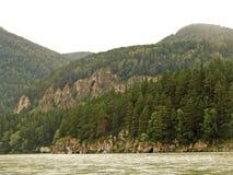 Coast of lake Baikal Stock Images