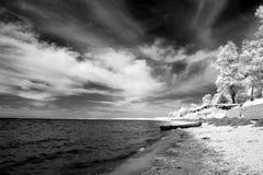 Coast, Lake Baikal, Russia Stock Photo