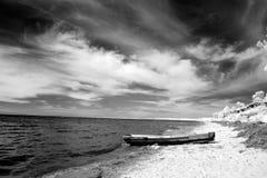 Coast at Lake Baikal, Russia Royalty Free Stock Photography