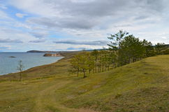 Coast of Lake Baikal. Russia. Royalty Free Stock Photography