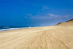 Coast of Landes, France Stock Images