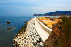 The coast landscape dalian Stock Photography