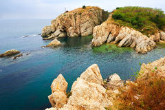 The coast landscape dalian Royalty Free Stock Photo
