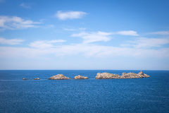 Coast landscape in Dalmatia, Croatia Royalty Free Stock Images