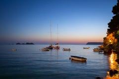 Coast landscape in Dalmatia, Croatia Royalty Free Stock Image