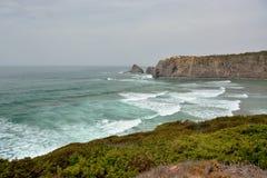 Coast landscape. Nature close to the coast Stock Photography