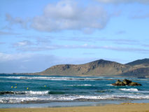 Coast of Las Palmas Royalty Free Stock Photo