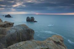 Coast of Liencres Stock Photo